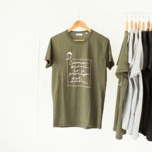 T shirt Uomo frase stampata