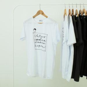 T shirt personalizzata con scritta