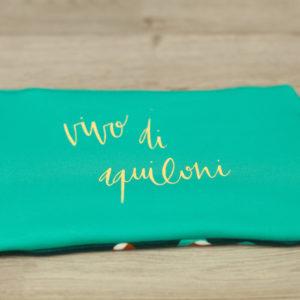 Pochette personalizzata colorata