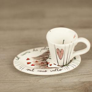 Tazze personalizzate caffè con cuori