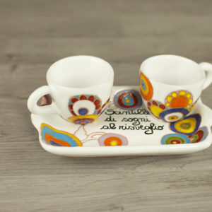 Set caffè doppio personalizzato