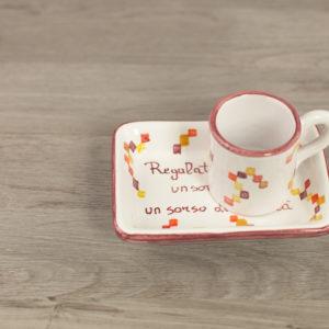 Tazza personalizzata in ceramica con frase amore