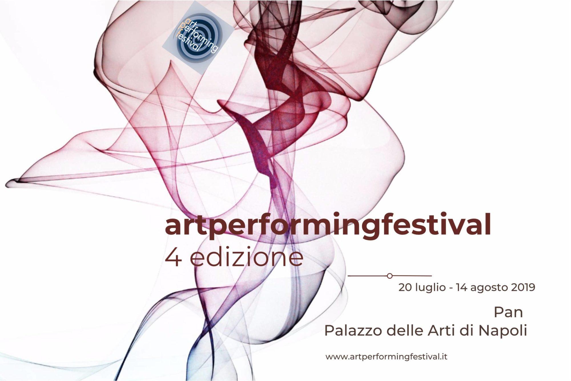 Festival Art Performing Napoli: 4^ Edizione Native digital generation