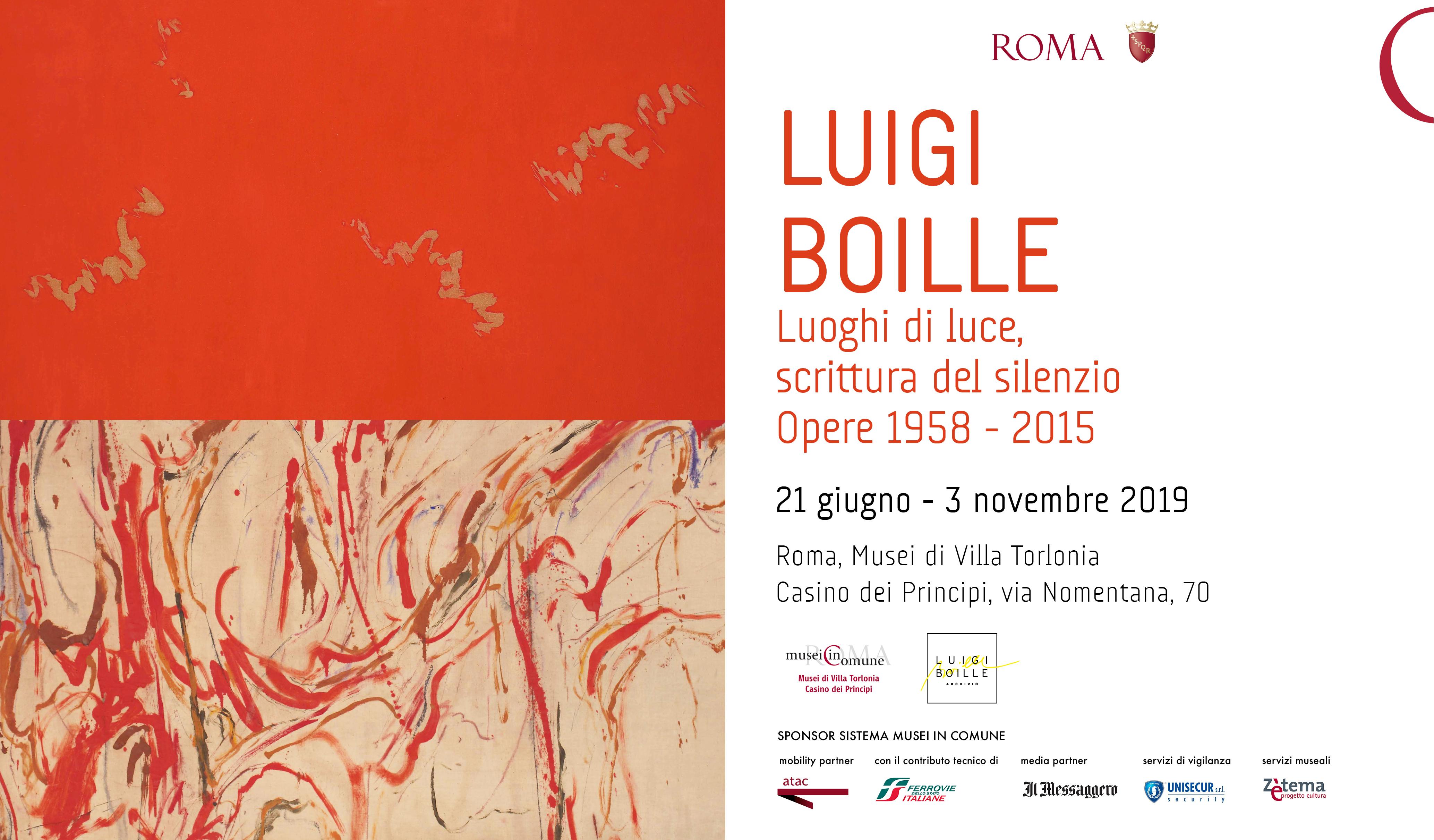 Luigi Bolle a Roma fino al 3 novembre