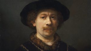 Self-portrait wearing a hat and two Chains ca. 1642 - 1643 Oil on panel. 72 x 54.8 cm Museo Nacional Thyssen-Bornemisza, Madrid Inv. no. 331 (1976.90)