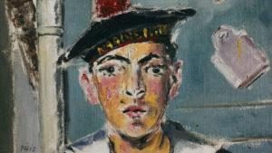 Filippo de Pisis, Il marinaio francese, 1930, olio su tela, collezione privata © Filippo de Pisis by SIAE 2019