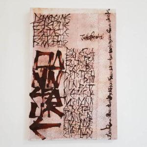 Quadro calligrafico