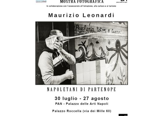 """Mostra fotografica """"Napoletani di Partenope"""" di Maurizio Leonardi"""
