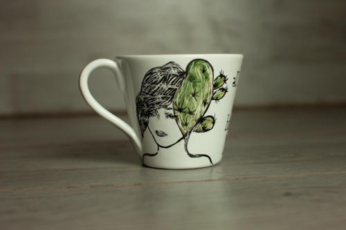 Tazza cappuccino Donna