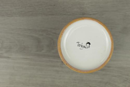 Bicchiere artigianale in ceramica Made in Italy
