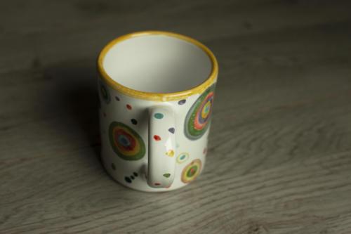 Mug con Cerchi colorati