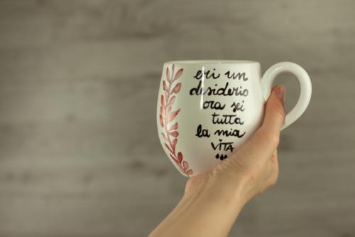 Tazza personalizzata mug grande con citazione