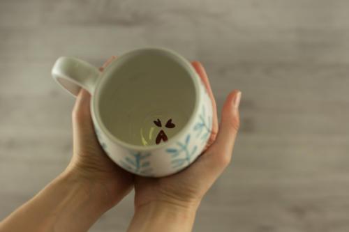 Tazza personalizzata mug grande con citazione e disegno