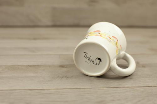 Mug personalizzata con scritta dipinta