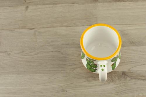 Tazza mug con scritta e fichi d'India personalizzata. Regalo San Valentino