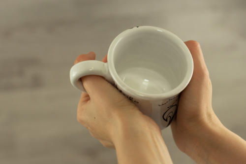 Tazza mug personalizzata con frase amore