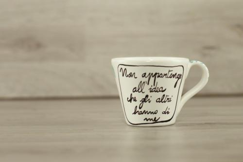 Tazza personalizzata in ceramica