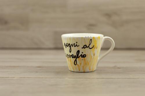 Tazza personalizzata in ceramica Made in Italy