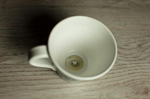 Tazza cappuccino sole