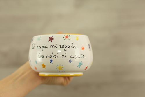 Tazza personalizzata in ceramica per colazione