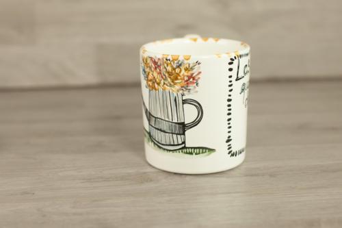 Tazza mug personalizzata con scritta