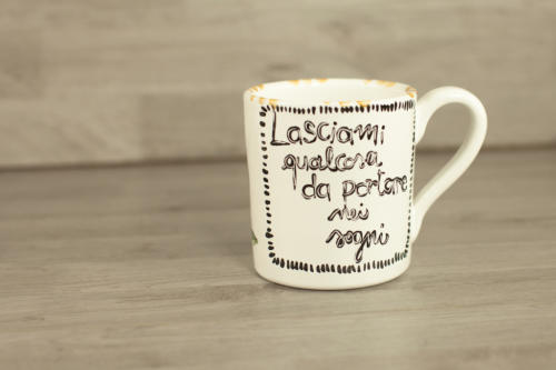 Tazza mug grande personalizzata con disegno
